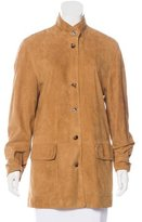 Loro Piana Suede Short Coat