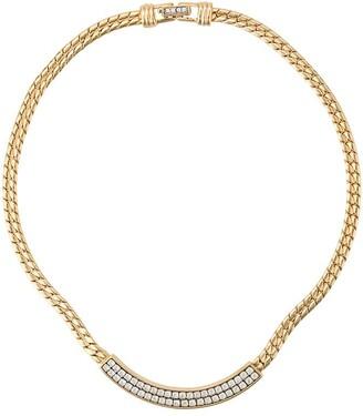 Susan Caplan Vintage 1980's Swarovski necklace