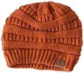 C.C. Rust Knit Beanie