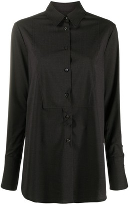 Alberto Biani Long-Sleeved Longline Shirt