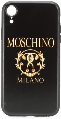 Moschino Roman logo iPhone XR case