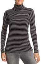 Three Dots Diane Striped Turtleneck