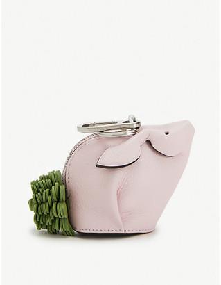 Loewe Bunny Flower leather charm