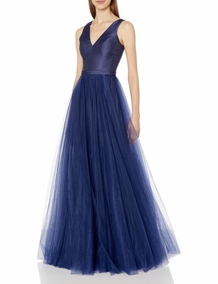 Mac Duggal Women's Satin and Tulle Ballgown