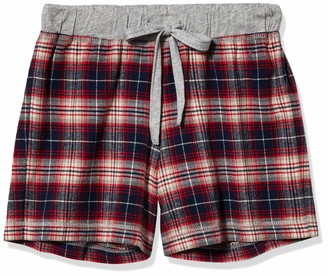 Dylan by True Grit Women's Whiskey Check Sleep Short