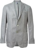 Ermenegildo Zegna woven blazer - men - Silk/Cotton/Linen/Flax/Wool - 52