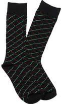 Cufflinks Inc. Lightsaber Duel Socks - Black Cotton Socks