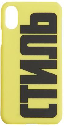 Heron Preston Printed Ctnmb I Phone X/Xs Cover