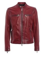 DSQUARED2 Multipocket Leather Jacket