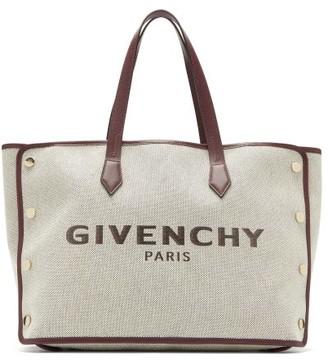 Givenchy Bond Medium Logo-print Canvas Tote Bag - Cream Multi