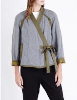 3.1 Phillip Lim Utility Kimono cotton-jersey jacket
