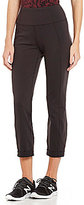 Lucy Strong Is Beautiful Cropped High-Rise Compression Pant