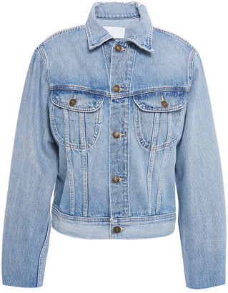 RE/DONE 70s Rodeo Distressed Denim Jacket