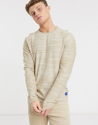 Jack and Jones crewneck sweater in oatmeal