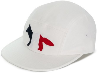 MAISON KITSUNÉ Fox Embroidered Cap