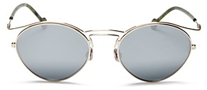 Christian Dior Women's Mirrored Round Sunglasses, 53mm