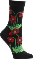 Ozone Women's Poppies Crew Socks (2 Pairs)