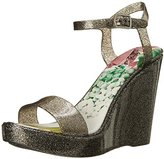 Qupid Women's Grand Wedge Sandal