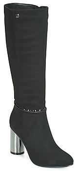Elue par nous FLORISSE women's High Boots in Black
