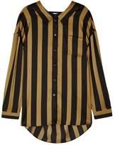 By Malene Birger Nipella Striped Satin Shirt