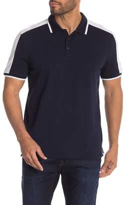 Calvin Klein Short Sleeve Colorblock Polo