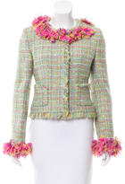 Chanel Fitted Bouclé Jacket