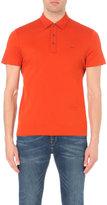 Michael Kors Logo-detail Cotton-jersey Polo Shirt