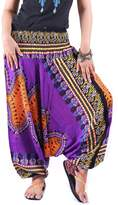 Villas - Dashiki Collection- 2 in 1 Harem Pants Hippie Boho Gypsy Beach Trousers Jumpsuit /DAP-005