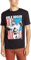 WWE Men's Legends Hulk Hogan Americana Licensed T-Shirt