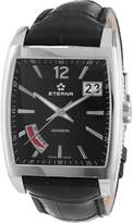 Eterna Watches Men's 7720.41.43.1228 Madison Black Leather Date Watch