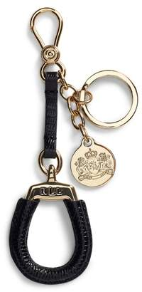 Ralph Lauren Leather Equestrian Key Chain