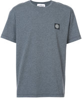 Stone Island logo plaque T-shirt - men - Cotton - XXL