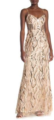 Milly Savannah Sequin Gown