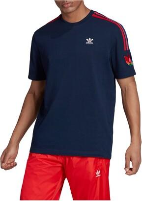 adidas 3D Trefoil Stripe T-Shirt
