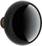 Rejuvenation Black Porcelain Door Knob