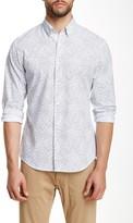 Perry Ellis Geo Print Long Sleeve Shirt