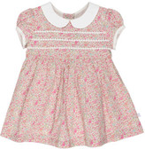 Bebe by Minihaha LIBERTY SHORT SLEEVE DRESS W/ COLLAR (3M - 24M)
