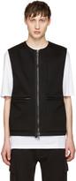 Helmut Lang Black Flack Vest