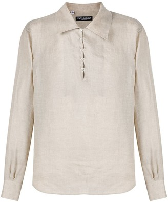 Dolce & Gabbana Relaxed Collared Shirt