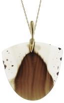 Annette Ferdinandsen Montana Agate Moth Necklace
