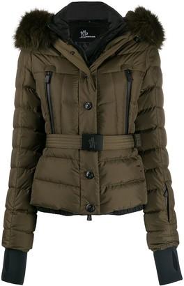 MONCLER GRENOBLE Belted Padded Jacket