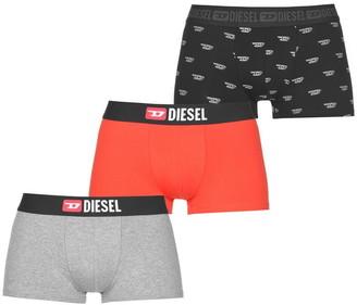 Diesel All Over Print 3 Pack Boxers