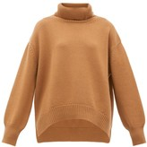 Connolly - Oversized Roll-neck Cashmere Sweater - Womens - Camel