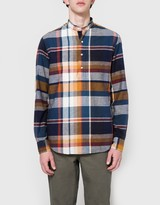 Gitman Brothers Big Madras Check LS-Banded-Popover