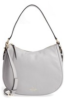 Kate Spade Cobble Hill Mylie Leather Hobo - Grey