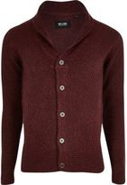 River Island Red Chunky Knit Cardigan
