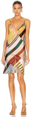 Rick Owens Slip Dress in Uxmal Print | FWRD