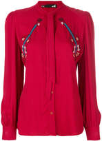 Love Moschino guitar embroidery blouse