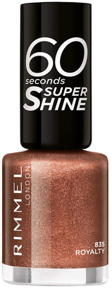 Rimmel 60 Seconds Super-Shine Nail Polish 8Ml 835 Royalty