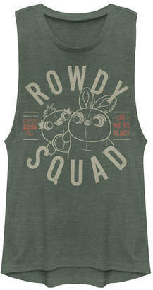 Disney Pixar Juniors' Toy Story 4 Rowdy Squad Festival Muscle Tank Top